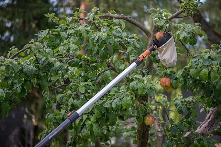 Podzimní úklid zahrady bude snazší s unikátním výměnným systémem QuikFit