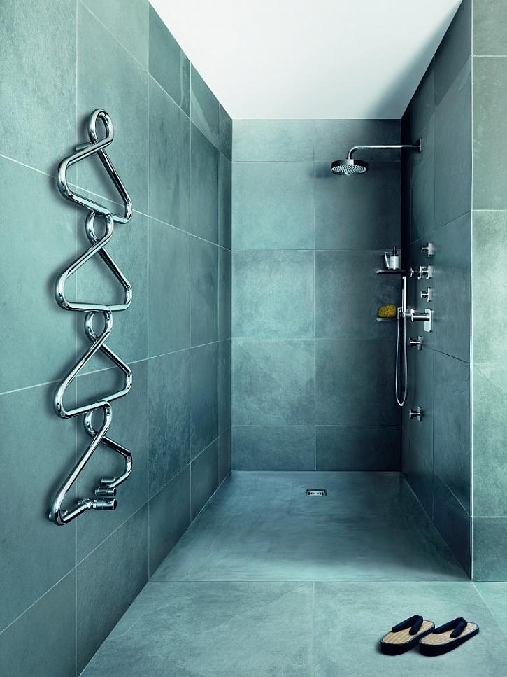 Runtal Archibald je dokonale praktickým koupelnovým doplňkem, který nahřívá a vysouší vaše ručníky a vytváří příjemné, komfortní klima.