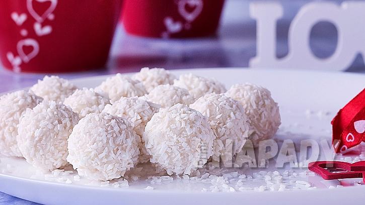Rychlé kokosové kouličky