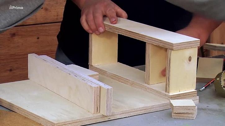 Výroba držáku ze dřeva