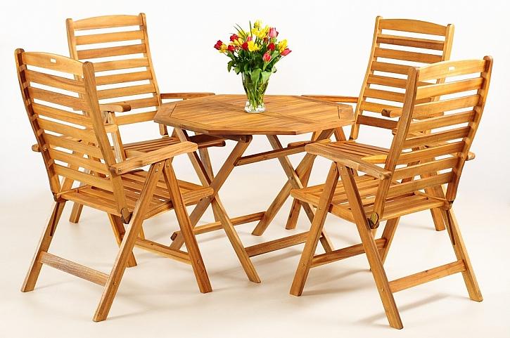 Super tip pro terasu - zahradní nábytek ze dřeva