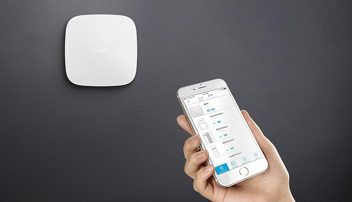 Bezdratovy system je napojeny na mobilni aplikaci zdroj Bedo Ajax
