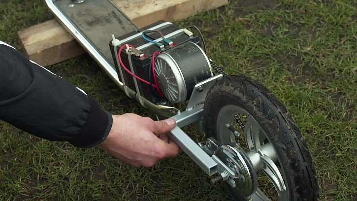 Motor na elektro-koloběžce