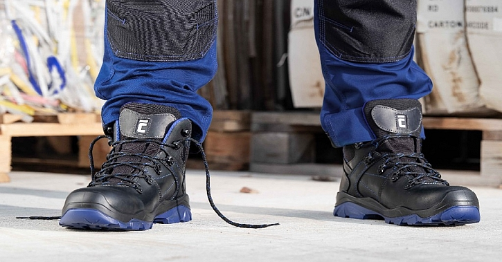 Bezpečnostní obuv Cortina splňuje i ty nejnáročnější požadavky