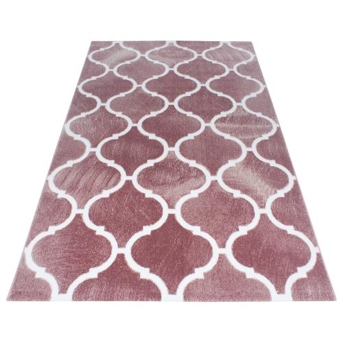 Ayyildiz koberce Kusový koberec Toscana 3180 Pink - 200x290 cm Bílá