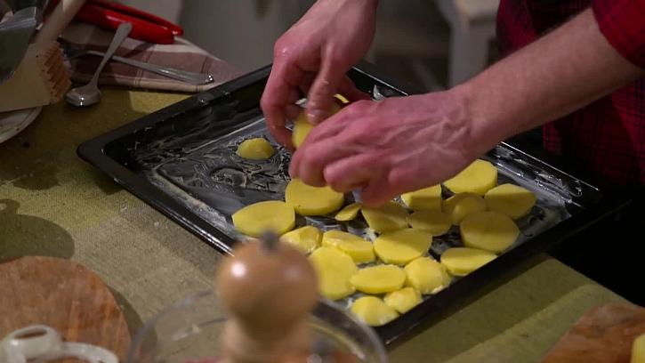 Kladení brambor