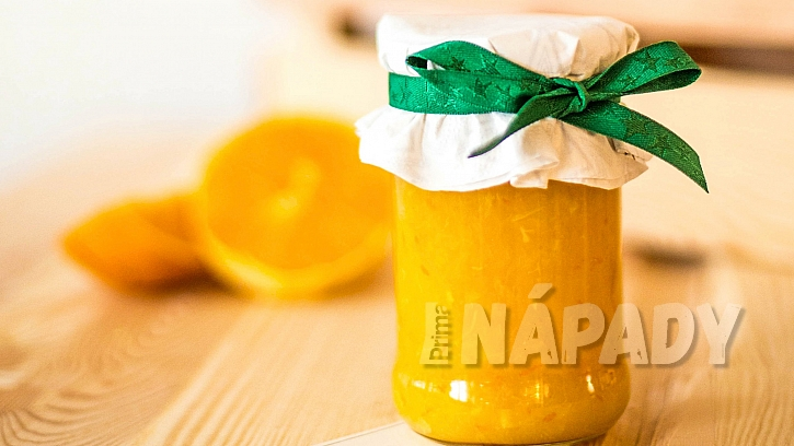Domácí marmeláda z pomerančů a pomela
