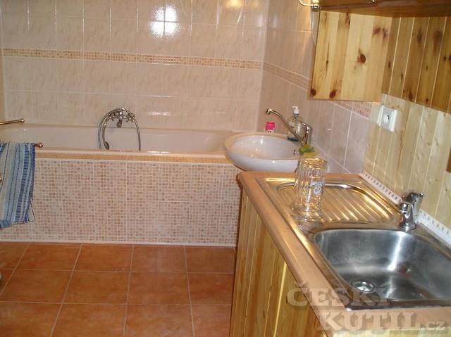 Nová koupelna ze zrušené kuchyňky