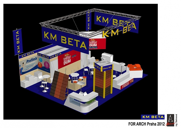 KM BETA vás zve na veletrh For Arch