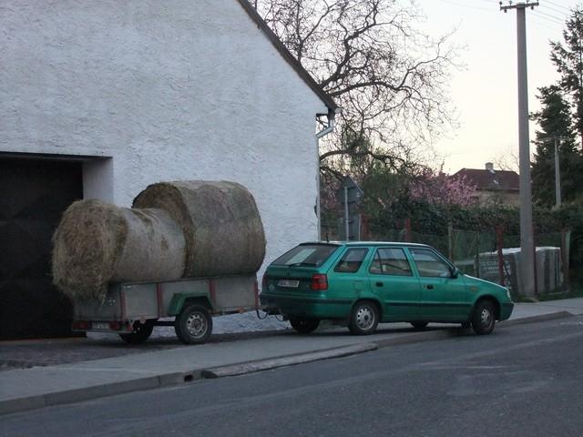 Vozík jako náklaďák