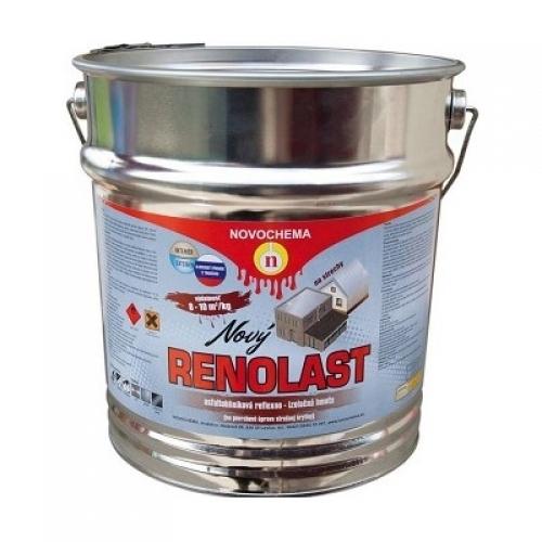 Renolast asfaltohliníková barva na střechu, 16 kg
