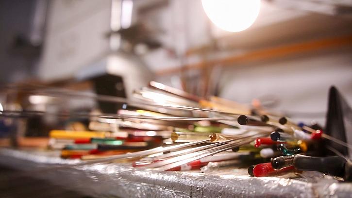 Materiál pro výrobu skleněných šperků