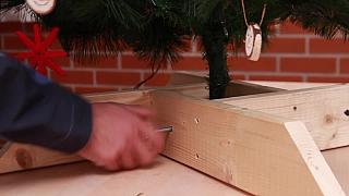 Jak vyrobit jednoduchý stojánek na vánoční stromek