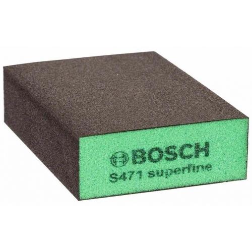 BOSCH Best for Flat and Edge Brusná houba, 68 x 97 x 27 mm, super jemná