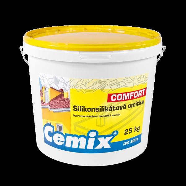Cemix Silikonsilikátová omítka COMFORT.