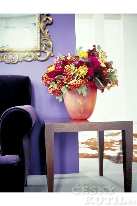 Podzimní květinové dekorace