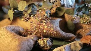 Jak vyrobit strom života z korálků a drátku