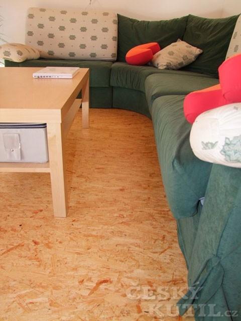 Desky OSB se uplatní v interiéru
