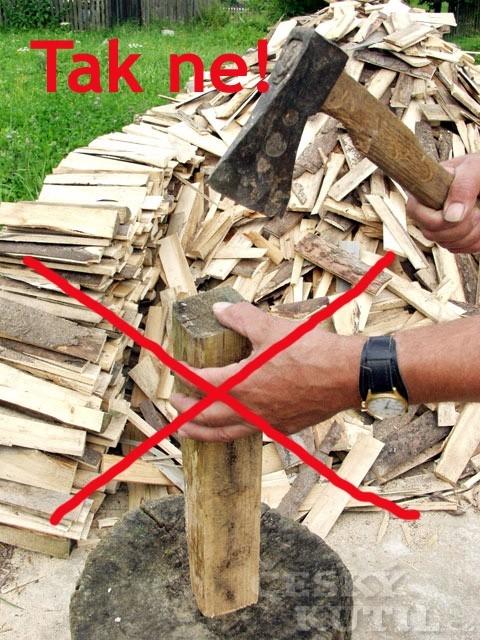 Příprava dřeva a bezpečnost