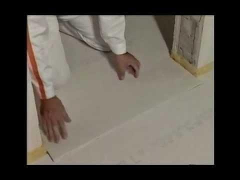 Video z pokládky podlahy pomocí podlahových prvků Fermacell