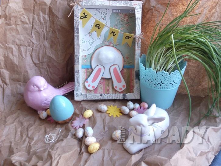 Velikonoční dekorace z papíru (Zdroj: Adriana Dosedělová)