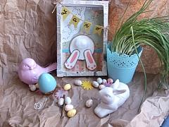Vyrobte si na Velikonoce veselou dekoraci z papíru