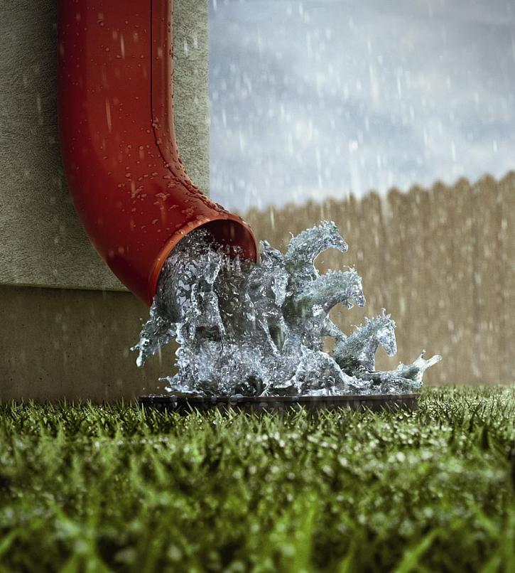 Systém odvodu dešťové vody pro všechny typy střech