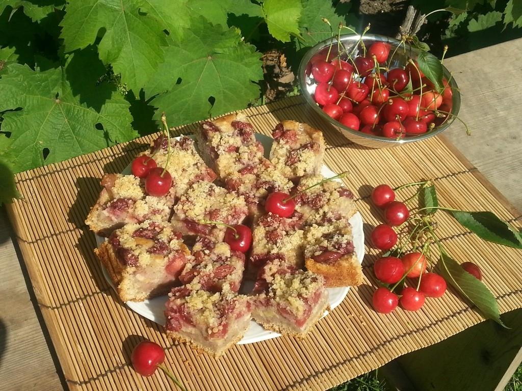 Marmeláda a třešňový koláč