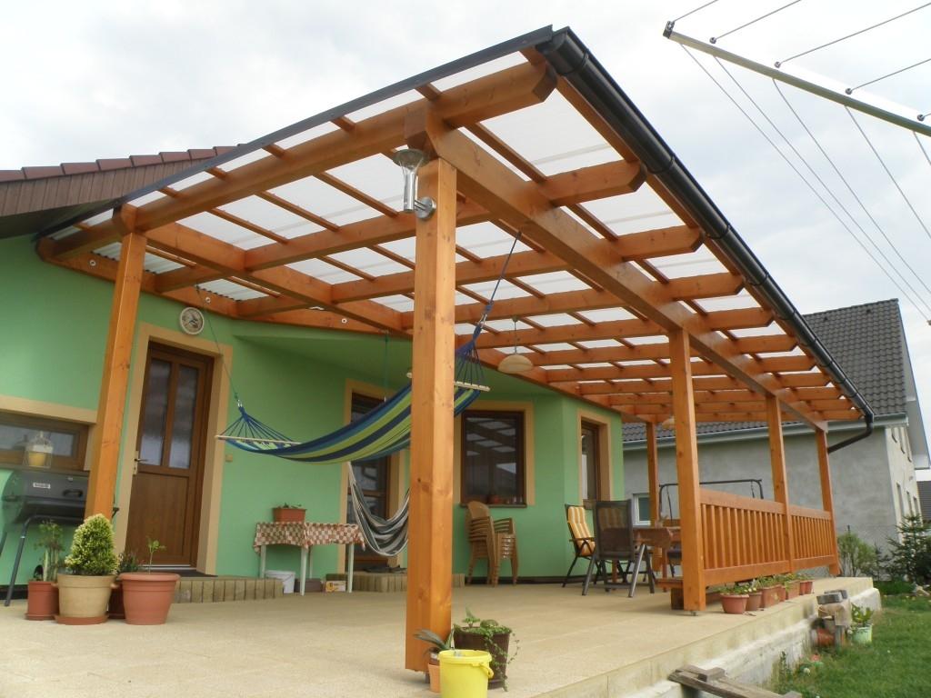 Střecha na pergolu