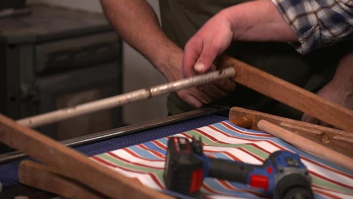 Zrezivělá spojovací tyč