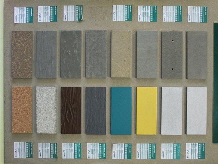 Cetris cementrotřískové desky: dost hustý a odolný