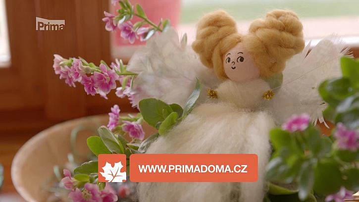 Víte, jak si vyrobit roztomilou vílu z ovčí plsti? (Zdroj: Víla)