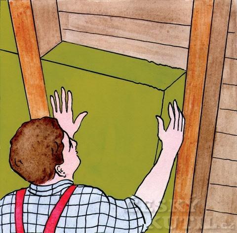 Zateplení šikmé střechy – postup