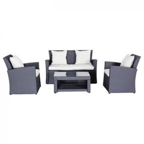 Creador Wicke 4+ grey lux sestava nábytku z ratanu