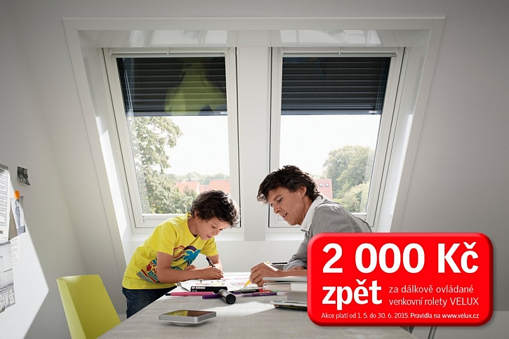 Venkovní roleta: ochrana vašeho střešního okna, kterou využijete po celý rok