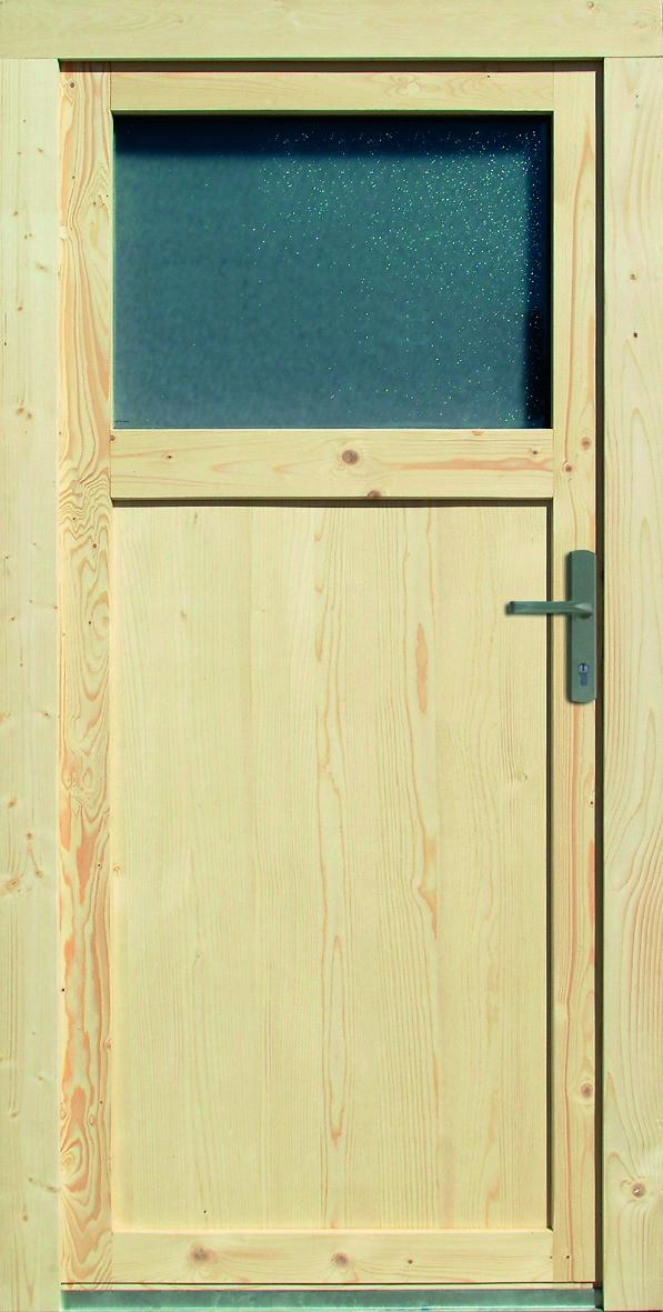 Vchodové dveře dřevěné3
