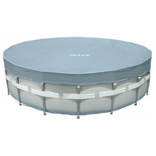 INTEX Krycí plachta Deluxe pro bazény Frame-Pool O 549 cm