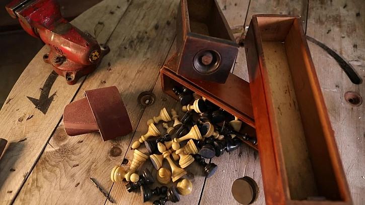 Stylová a originální krabička ze starého šuplíku