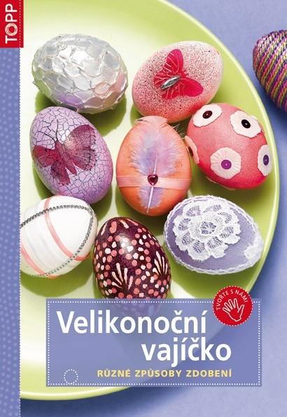 Dekorativní velikonoční věnec s mramorovanými vajíčky – výroba