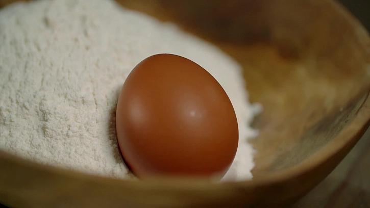 Mouka a vejce
