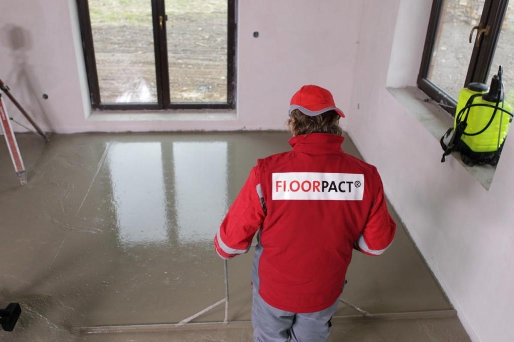 Litou podlahu snadno, rychle a už bez rizika