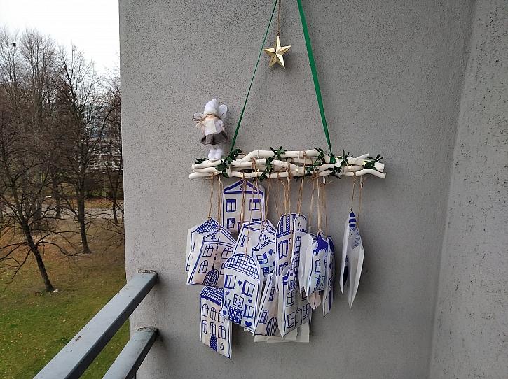 Adventní kalendář si můžete doma vyrobit sami podle vašich představ (Zdroj: Adriana Dosedělová)