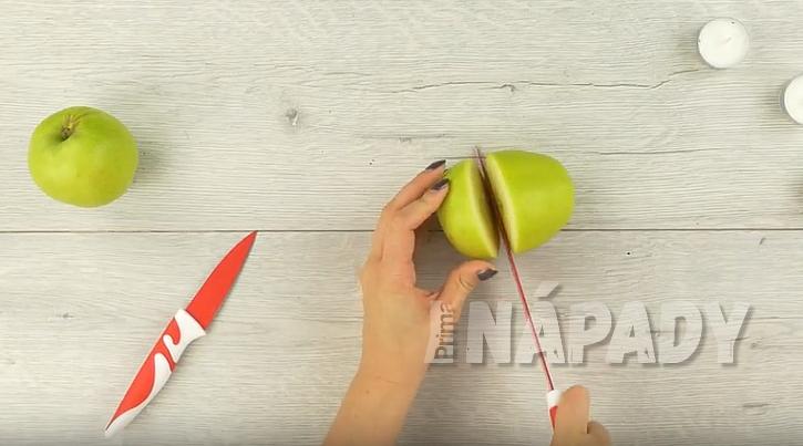 Rozkrojte jablko