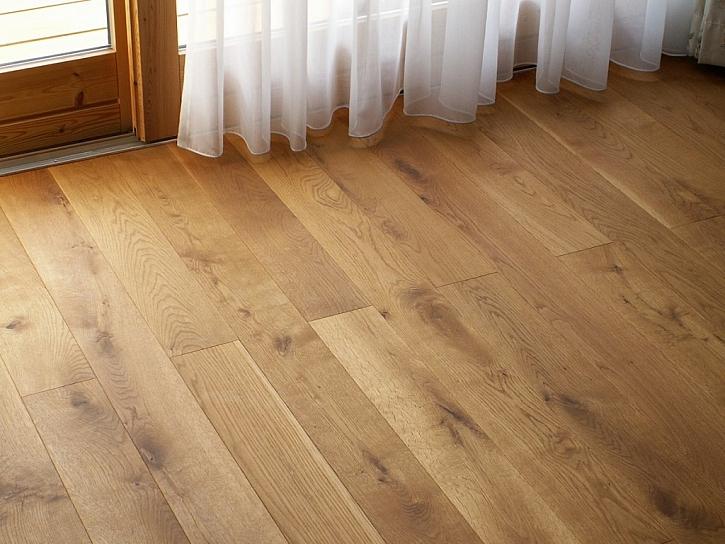 Členění dřevěných podlah podle typu dřevin