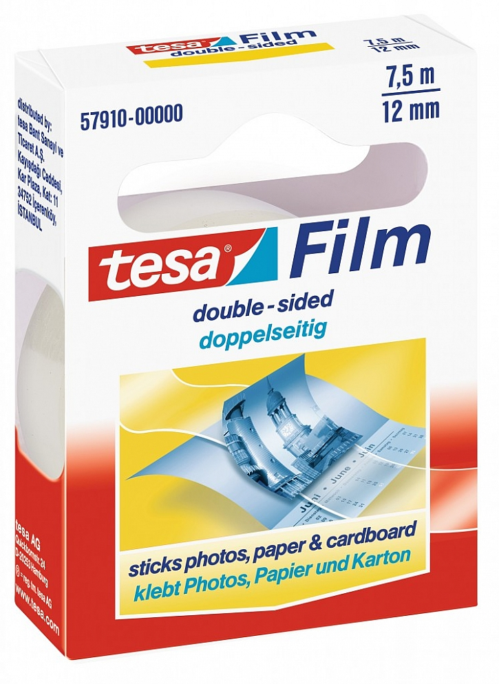 tesafilm® Oboustranně lepicí páska