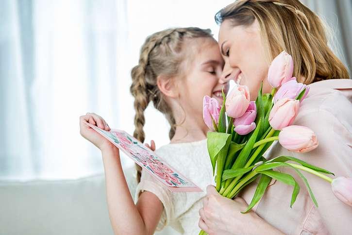 druhou květnovou neděli mají maminky svátek (Zdroj: Depositphotos)