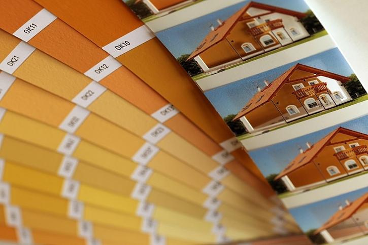 Pomocí průhledných průsvitek a rámečků  jednoduše vyberete správný odstín