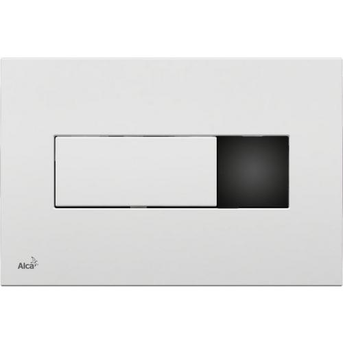 ALCAPLAST Ovládací tlačítko splachovací M370S (bílé) se senzorem