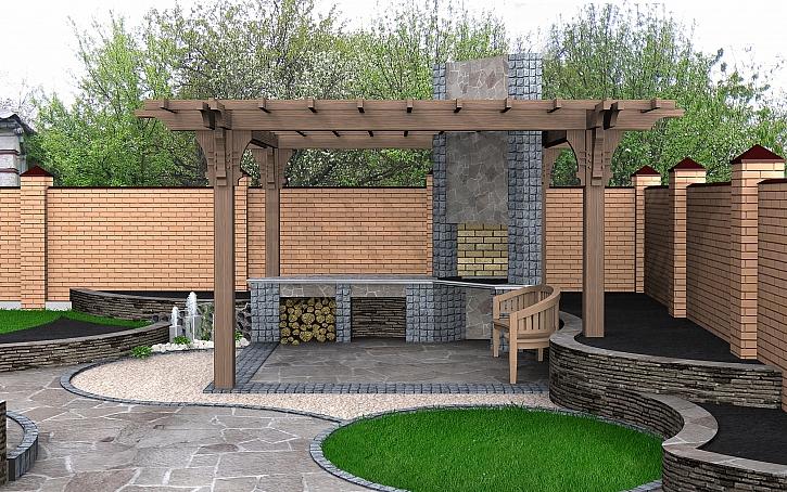 Zahradní stavby aneb od pergoly po stání pro auto (Zdroj: Depositphotos)