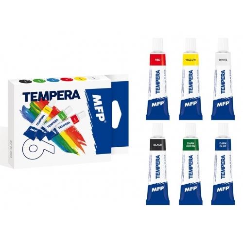 MFP temperové barvy set 6 ks 12 ml